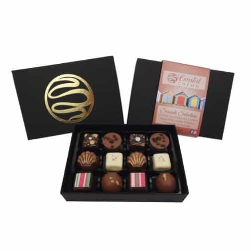Product Image of Coastal Cocoa Seaside Chocolate Selection 12