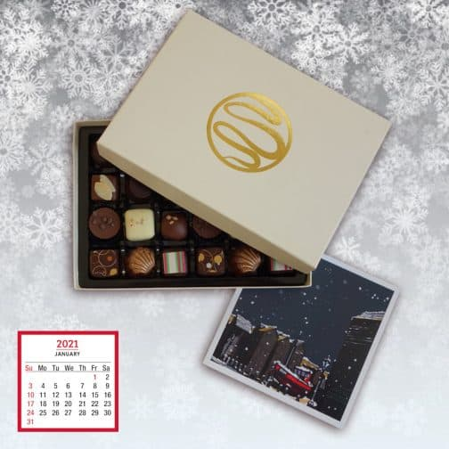 Gift Subscription Chocolate Selections by Coastal Cocoa, Hastings, East Sussex