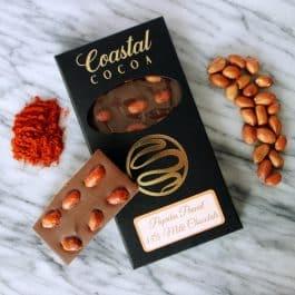 Paprika Peanut Milk Chocolate Bar